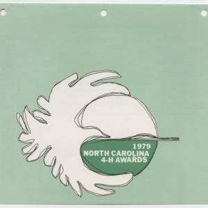 1979 North Carolina 4-H Awards (4-H Publication 0-1-10, Revised 11-1978)