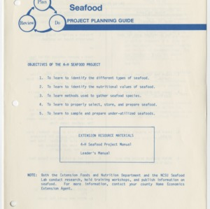 Seafood Project Planning Guide