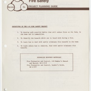 Fire Safety Project Planning Guides