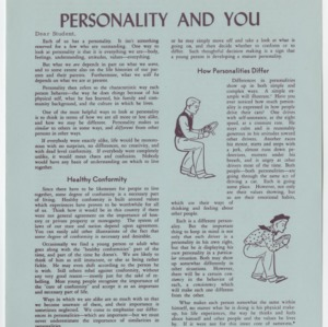 Personality and You (Home Extension Publication 23b)
