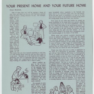 (HE 23c) Your Present Home and Your Future Home