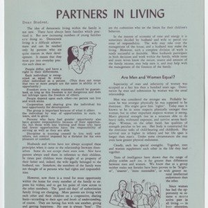 (HE 23h) Partners in Living