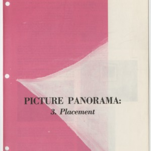 (HE 39) Picture Panorama: 3. Placement (Reprint)