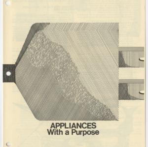 Appliances With a Purpose (Home Extension Publication 96, Reprint)