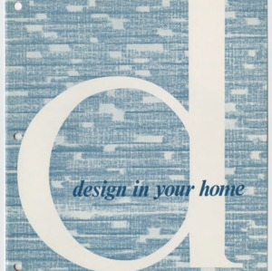 (HE 104) Design in Your Home (Reprint)