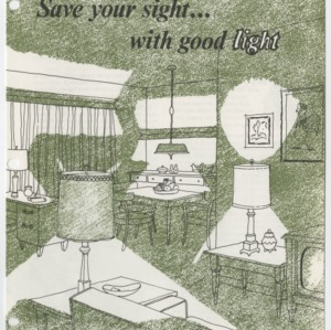 (HE 126) Save your sight... with good light (Reprint)