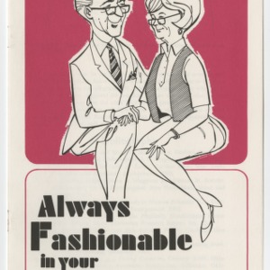 (HE 133) Always Fashionable in Your Elderly Years (Reprint)