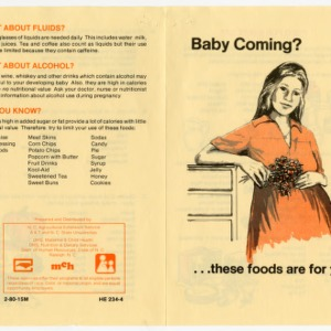 Baby coming ... these foods are for you (Home Extension Publication 234-4)