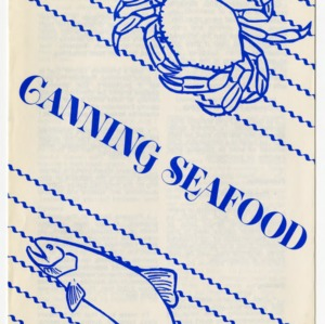 Canning seafood (Home Extension Publication 238)