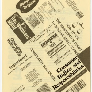 Consumer rights and responsibilities (Home Extension Publication 244)