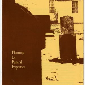 Planning for funeral expenses (Home Extension Publication 253)