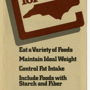 Eat right for life (Home Extension Publication 271)