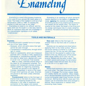 Enameling (Home Extension Publication 279-3)