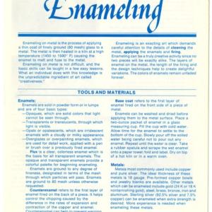 Enameling (Home Extension Publication 279-3)