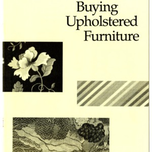 Buying upholstered furniture (Home Extension Publication 330)