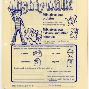 Mighty milk: funsheet and leader guide 2