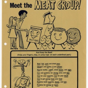 Meet the meat group: funsheet and leader guide 4