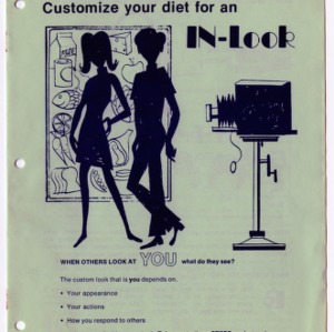 Customize your diet for an in-look (Expanded Food and Nutrition Education Program 33, Reprint)