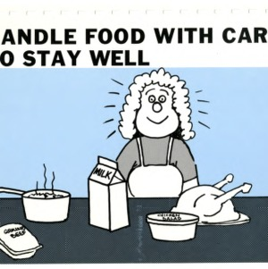 Handle food with care to stay well (Expanded Food and Nutrition Education Program 50 d-2, Teaching Series)