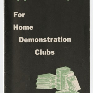 Good Reading For Home Demonstration Clubs 1948