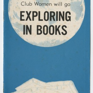 In 1961... Home Demonstration Club Women will go Exploring in Books