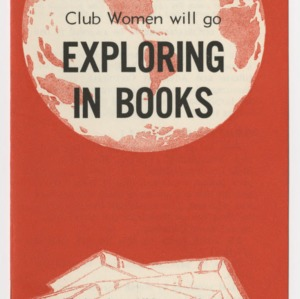 In 1962... Home Demonstration Club Women will go Exploring in Books