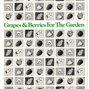 Grapes and berries for the garden (Agricultural Extension Publication 015, Revision)