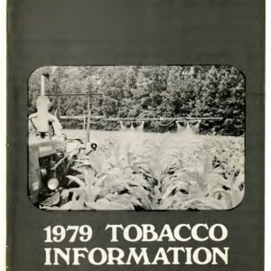 1979 tobacco information (AG-150)