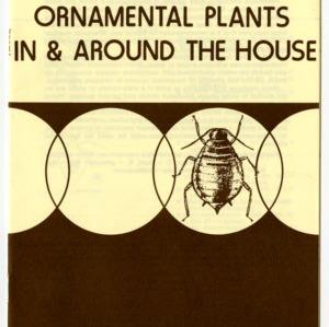 Insect control on ornamental plants in and around the house (Agricultural Extension Publication 217, Revised)