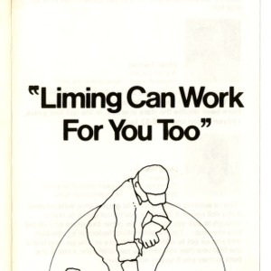 Liming can work for you too : On soybeans, liming pays (Agricultural Extension Publication 228)
