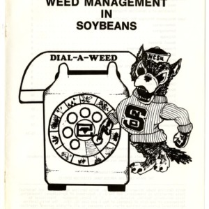 Dial-a-weed: integrated weed management in soybeans (Agricultural Extension Publication 274)