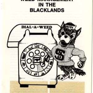 Dial-a-weed: integrated weed management in the blacklands (Agricultural Extension Publication 278)