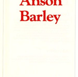 Anson barley pamphlet (Agricultural Extension Publication 327)