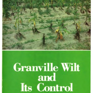 Granville wilt and its control (Agricultural Extension Publication 335)