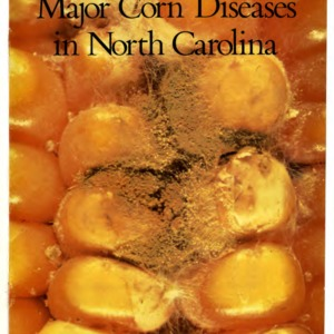 Major corn diseases in North Carolina (Agricultural Extension Service Publication 343)