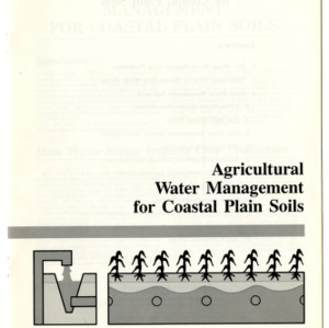 Agricultural water management for coastal plain soils (Agricultural Extension Publication 355)