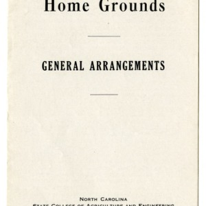 Beautifying the home grounds: general arrangements (Extension Folder No. 41)