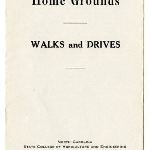 Beautifying the home ground: walks and drives (Extension Folder No. 42)