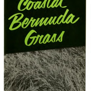 Coastal bermuda grass (Extension Folder No. 129)