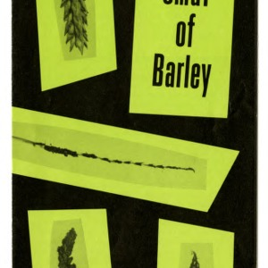 Brown loose smut of barley (Extension Folder No. 132)