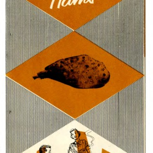 Cutting, carving, cooking country style hams (Extension Folder No. 134, Reprinted)