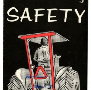 Tractor and farm machinery safety (Extension Folder No. 155, Revised)