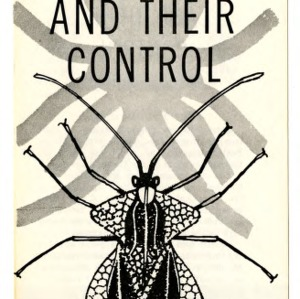 Lace bugs and their control (Extension Folder No. 177, Revised)