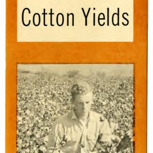 Estimates on your cotton yields (Extension Folder No. 187)