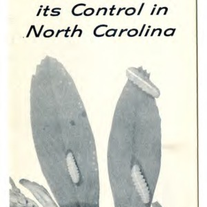 The alfalfa weevil and its control in North Carolina (Extension Folder No. 204)