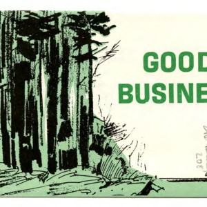 Good business (Extension Folder No. 208, Reprint)