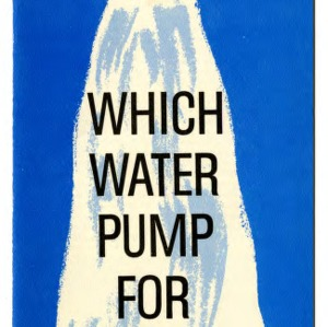 Which water pump is for you? (Extension Folder No. 210)