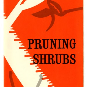 Pruning shrubs (Extension Folder 215)