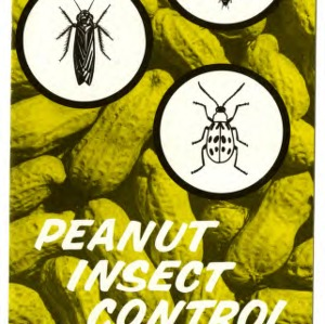 Peanut insect control (Extension Folder No. 222)