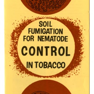 Soil fumigation for nematode control in tobacco (Extension Folder No. 236)